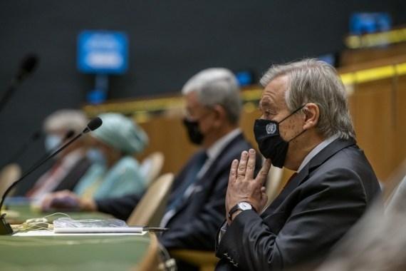 संयुक्त राष्ट्र दिवस पर गुटेरेस ने की वैश्विक एकजुटता की अपील