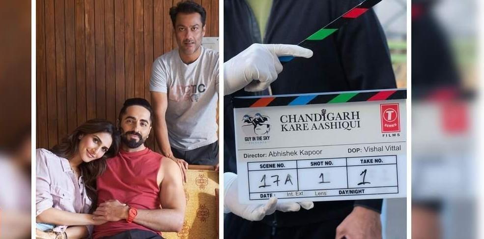 आयुष्मान, वाणी की अगली फिल्म का शीर्षक 'चंडीगढ़ करे आशिकी'