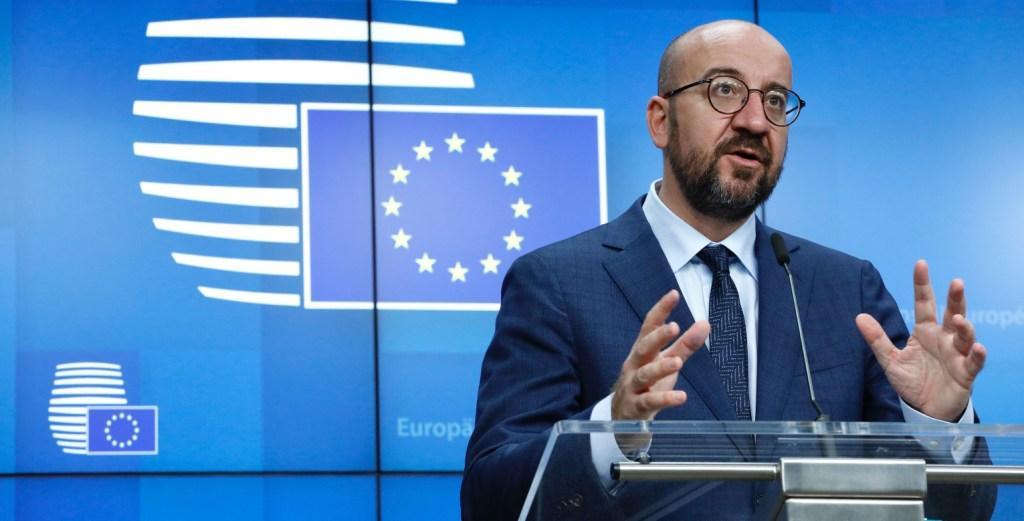 यूरोपीय संघ के नेताओं ने फ्रांस में 'आतंकवादी हमलों' की निंदा की