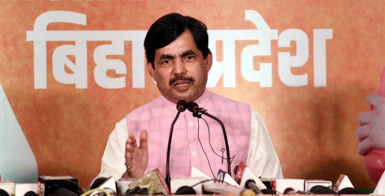 जम्मू एवं कश्मीर में धारा-370 पर कांग्रेस, राजद अपना रुख स्पष्ट करें : शाहनवाज हुसैन