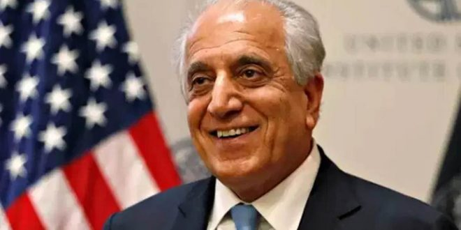 खलीलजाद ने तालिबान से शांति समझौतों को लेकर प्रतिबद्ध रहने का आग्रह किया