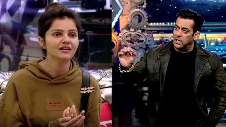 बिग बॉस 14 : सलमान खान ने रुबीना दिलाइक को घर छोड़ने को कहा