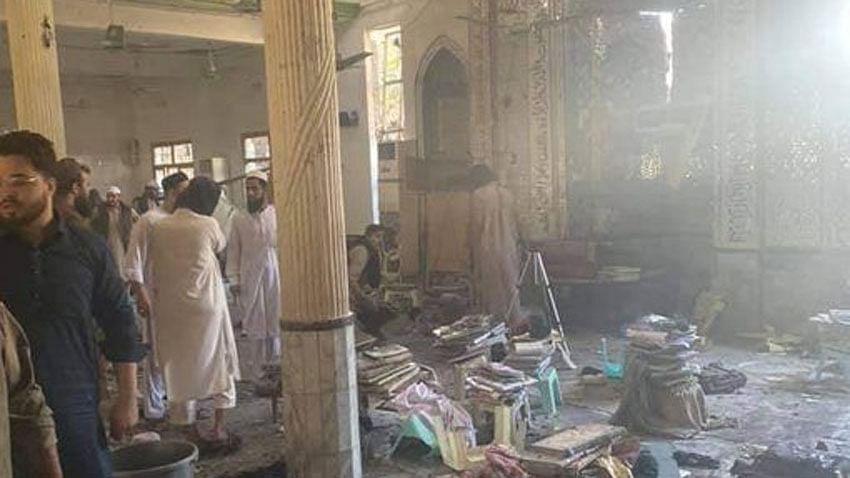 पेशावर के मदरसे में विस्फोट, 8 की मौत, 125 घायल