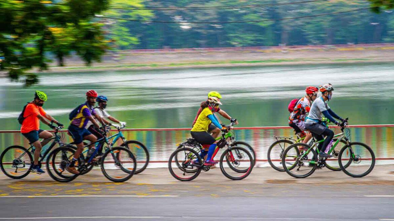 कोविड 19 से नहीं पड़ा साइकिल व्यापार पर असर, फिटनेस फ्रिक लोगों ने पूरी की कसर