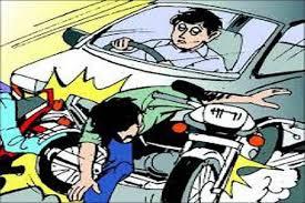 जबलपुर: कार ने मारी बाइक को टक्कर, तीन लोगों की मौत