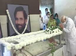 रामविलास पासवान के अंतिम दर्शन: राष्ट्रपति, प्रधानमंत्री सहित राहुल ने दी श्रद्धांजलि, पटना में होगा अंतिम संस्कार