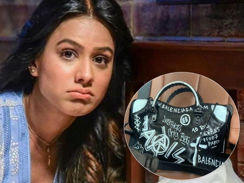 टीवी एक्ट्रेस निया शर्मा का हैंडबैग हुआ चोरी, मुंबई पुलिस से मांगी मदद