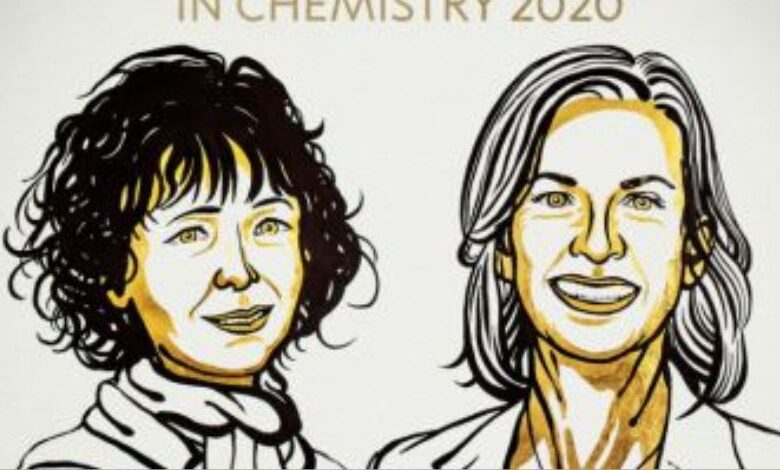 जीनोम एडिंटिंग के लिए 2 महिला वैज्ञानिकों को केमिस्ट्री का नोबेल पुरस्कार