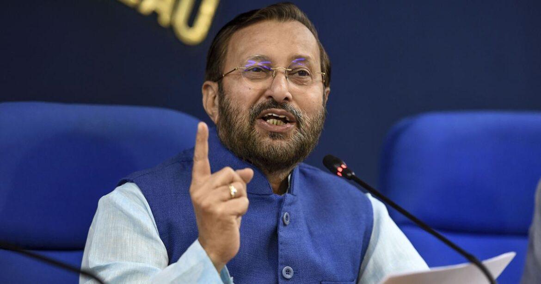 केंद्रीय मंत्री जावडेकर बोले-धारा 370 पर अलगाववादियों के सुर में सुर मिला रही कांग्रेस