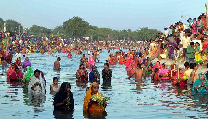 कोरोना काल में नहाय-खाय के साथ छठ महापर्व शुरू, सीएम नीतीश ने दीं शुभकामनाएं
