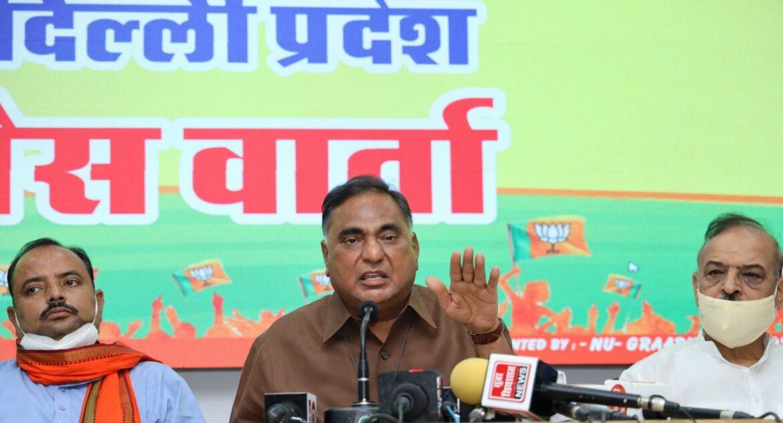 भाजपा ने सीएम केजरीवाल से पूछा- कहां गए यमुना की सफाई के लिए मोदी सरकार से मिले 400 करोड़ रुपये?