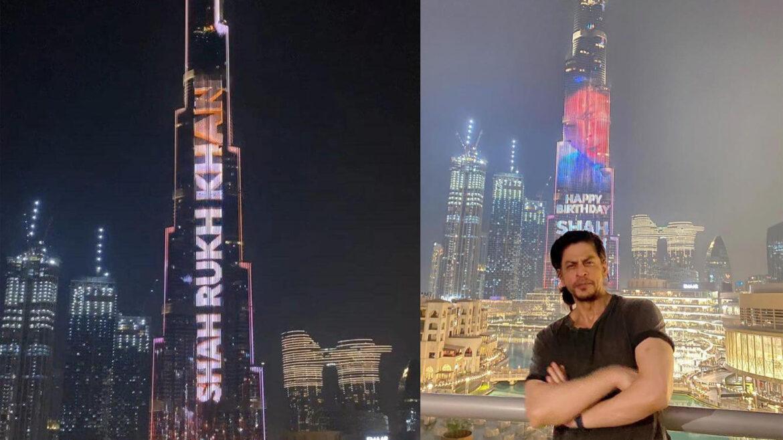 दुनिया की सबसे बड़े स्क्रीन पर खुद को देख भावुक हुए शाहरुख