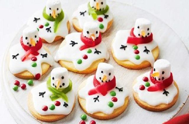 Christmas 2020: बच्चों के लिए बनाएं Snowman Biscuit