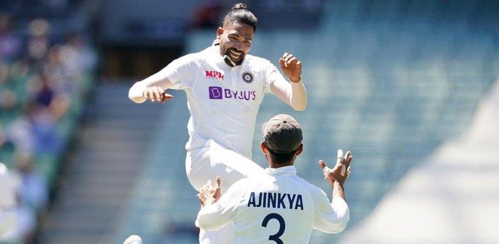 'मैच्योर' सिराज ने अपने पहले टेस्ट में ही की शमी और अश्विन की बराबरी