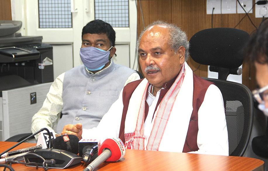 कृषि मंत्री तोमर ने किया एग्री इंडिया हैकाथॉन का आगाज