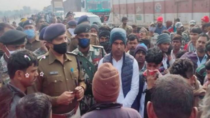 नीतीश राज में बेखौफ अपराधी, जदयू नेता की वाहन से कुचलकर हत्या