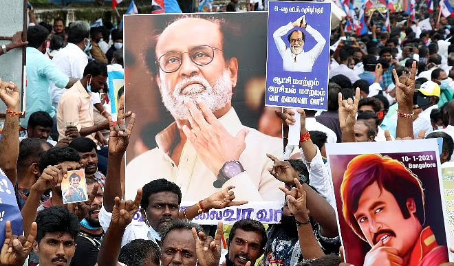 रजनीकांत के राजनीति में एंट्री की मांग को लेकर फैंस का प्रदर्शन, एक्टर बोला- दबाव डालकर मुझे 'दर्द न दें'