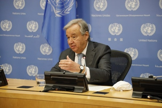 संयुक्त राष्ट्र प्रमुख गुटेरेस दूसरे कार्यकाल के लिए उपलब्ध