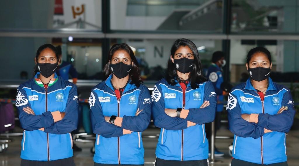 भारतीय महिला हॉकी टीम अर्जेटीना के लिए रवाना
