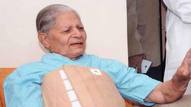 गुजरात के पूर्व मुख्यमंत्री माधवसिंह सोलंकी का 93 साल की आयु में निधन
