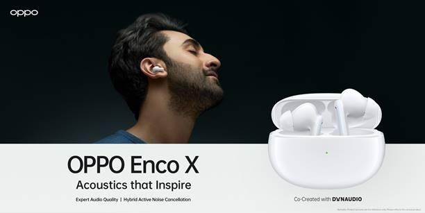 ओप्पो एन्को एक्स वायरलेस इयरफोन को भारत में 18 जनवरी को किया जाएगा लॉन्च