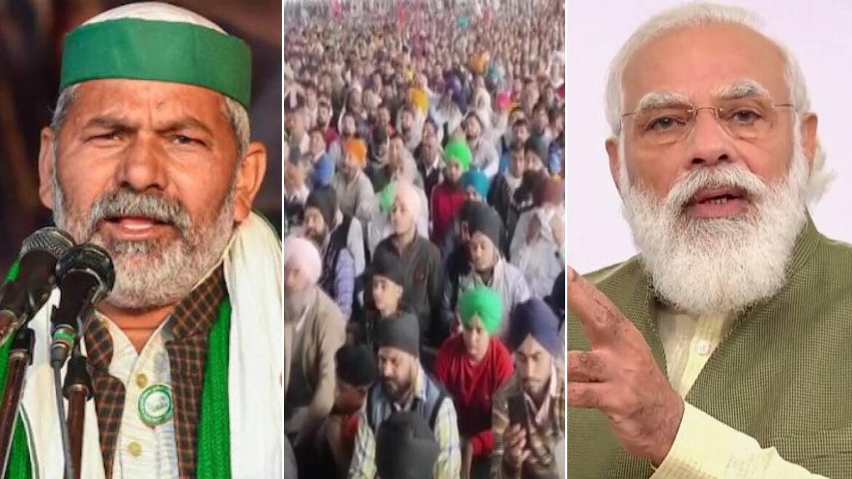 कृषि कानूनों पर भाजपा ने लगाई मुहर, पीएम मोदी की मौजूदगी में पास हुआ राजनीतिक प्रस्ताव