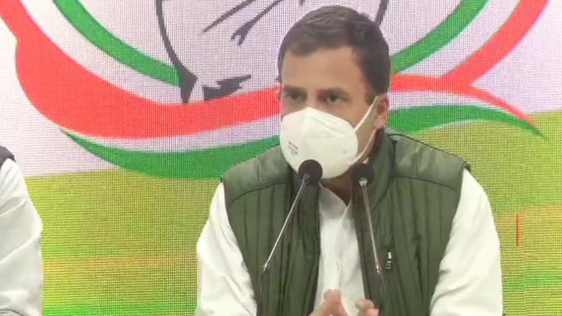 कांग्रेस की कोशिश रही कि खेती किसी एक हाथ में न जाए: राहुल गांधी