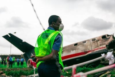 नाइजीरिया : सैन्य विमान दुर्घटनाग्रस्त, 7 की मौत