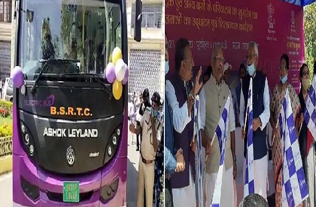 बिहार को मिली 82 नयी लग्जरी, डिलक्स और इलेक्ट्रिक बसों की सौगात, सीएम नीतीश ने किया शुभारंभ