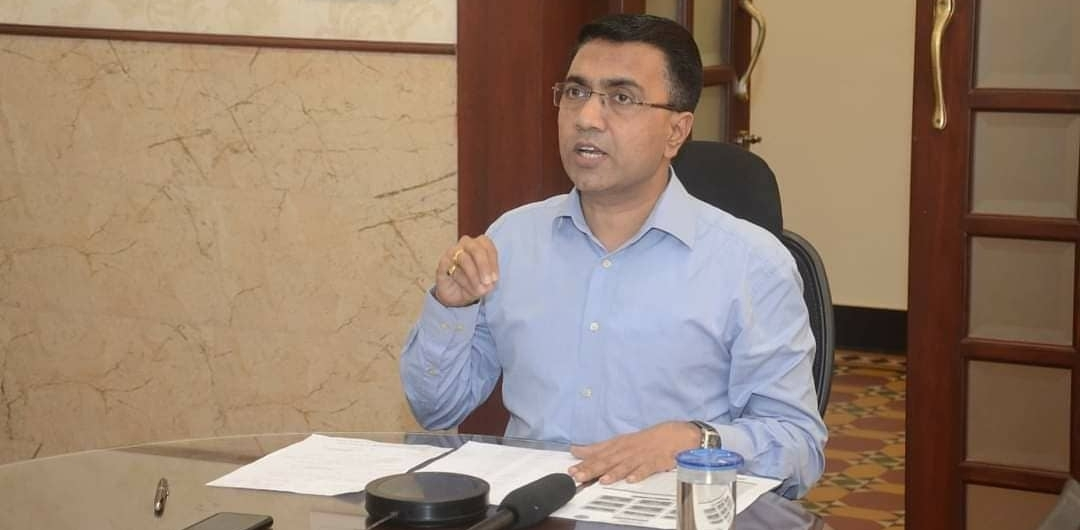 गोवा के नए हवाई अड्डे का पहला चरण अगस्त 2022 तक शुरू हो जाएगा: सावंत