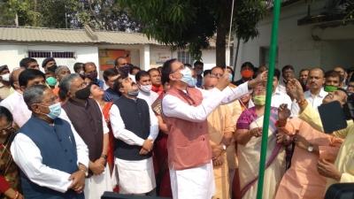 अंत्योदय के संकल्प को पूरा कर रही है भाजपा : डॉ.संजय जायसवाल