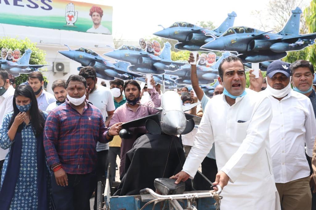 मोदी सरकार में अब कमीशन खोरी और बिचौलियों की मौजूदगी आई सामने : भारतीय युवा कांग्रेस
