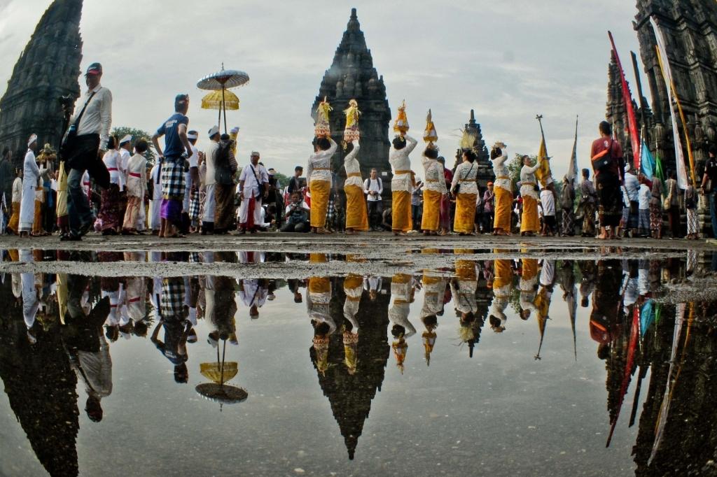 इंडोनेशिया में विदेशी पर्यटकों की संख्या में 86.9 फीसदी की गिरावट दर्ज