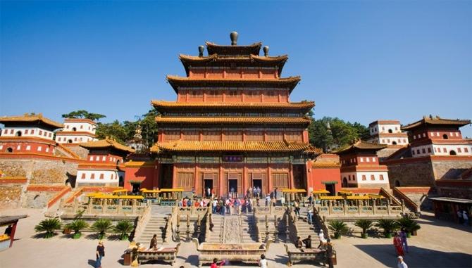 पुनिंग मंदिर, चीन में मशहूर हान और तिब्बती शैलियों के मिश्रण वाला मंदिर