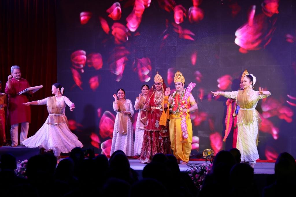 चीन में दशहरा मेला का आयोजन, रामलीला रही विशेष आकर्षण